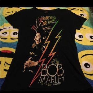 Bob Marley Sz Large womens Shirt